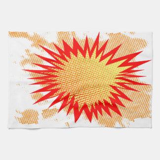 Platscher Hintergrund Handtuch