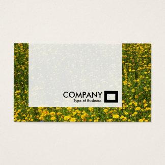 Platte - Bett der gelben Gänseblümchen Visitenkarte
