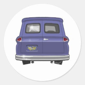 Platten-LKW 1963 GMCs Chevy Runder Aufkleber