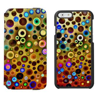 Plattern, schwarze Incipio Watson™ iPhone 6 Incipio Watson™ iPhone 6 Geldbörsen Hülle
