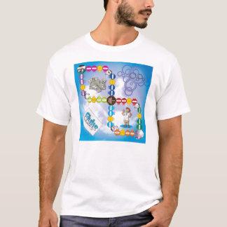 Plattfisch-Spiel-Brett T-Shirt