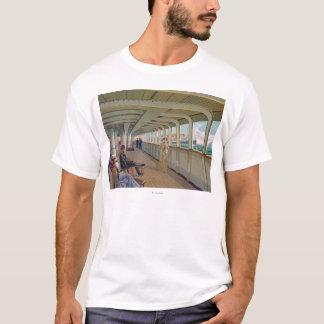 Plattform-Ansicht der Patricia, Hamburg-Amerika T-Shirt