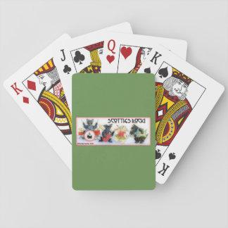 Plattform der Spielkarten