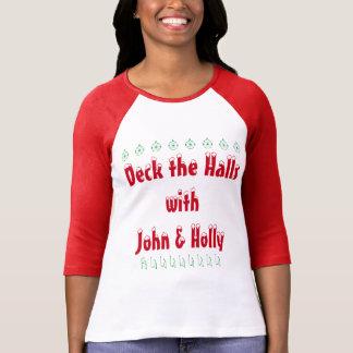 Plattform die Hallen mit John- u. Stechpalmen-T - T-Shirt
