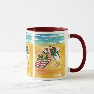 Plattform-Ihrtatzen Feiertags-Tasse Tasse
