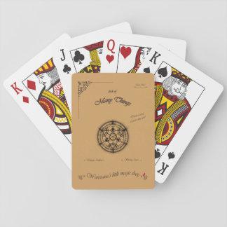 Plattform vieler Sachen Spielkarten
