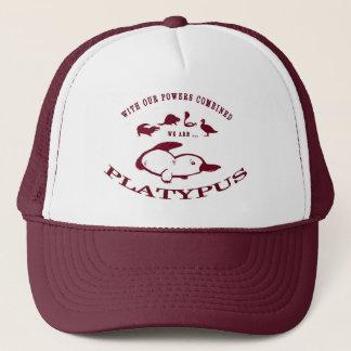 Platypus Hut (rot) Truckerkappe