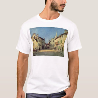 Platz in Argenteuil durch Alfred Sisley T-Shirt