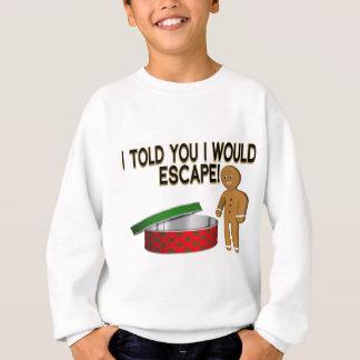 Plätzchen-Entweichen Sweatshirt