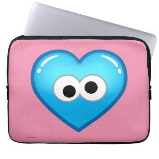 Plätzchen-Herz Laptopschutzhülle