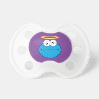 Plätzchen-lächelndes Gesicht mit Halo Schnuller