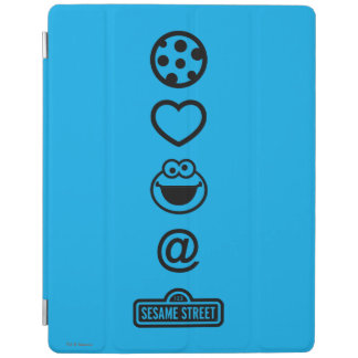 Plätzchen-Liebe-Plätzchen-Monster iPad Hülle