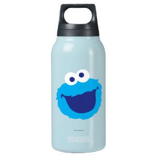 Plätzchen-Monster-Gesicht Isolierte Flasche
