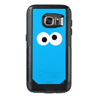 Plätzchen-Monster-großes Gesicht OtterBox Samsung Galaxy S7 Hülle