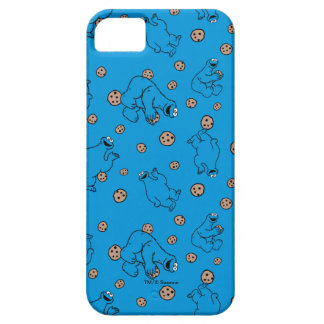 Plätzchen-Monster und Plätzchen-Blau-Muster iPhone 5 Schutzhülle