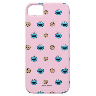 Plätzchen-Monster und Plätzchen-rosa Muster iPhone 5 Schutzhüllen