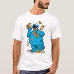 Plätzchen-Monster-verrückte Plätzchen T-Shirt