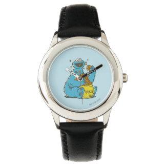 Plätzchen-Monster Vintag Armbanduhr