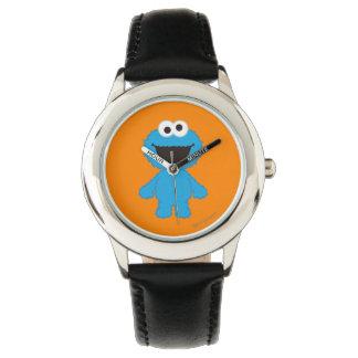 Plätzchen-Monster-Wolle-Art Armbanduhr