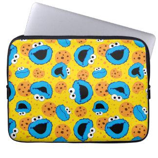 Plätzchen Monter und Plätzchen-Muster Laptopschutzhülle