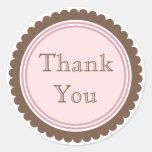Plätzchen-Schnitt-Schokoladen-Rosa danken Ihnen Au