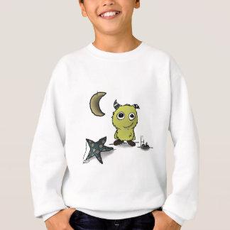 Plätzchen-Sicherheit Monster-Kunst Sweatshirt