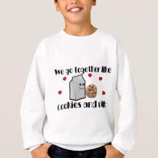 Plätzchen u. Milch Sweatshirt