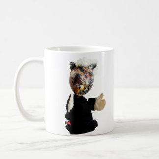 Platzhirsch-Motto Kaffeetasse
