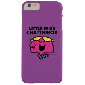 Plaudern mit kleinem Fräulein Chatterbox Barely There iPhone 6 Plus Hülle