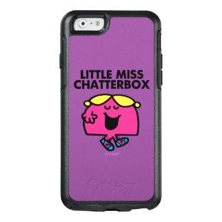 Plaudern mit kleinem Fräulein Chatterbox OtterBox iPhone 6/6s Hülle