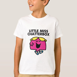 Plaudern mit kleinem Fräulein Chatterbox T-Shirt