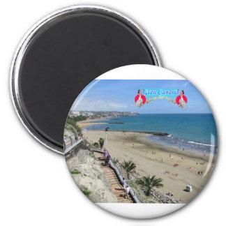 Playa Del Ingles Runder Magnet 5,7 Cm