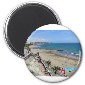 Playa Del Ingles Runder Magnet 5,1 Cm