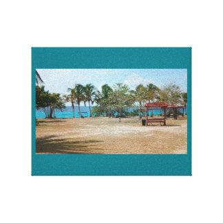 Playa Giron, Kuba - Punta Perdiz Leinwanddruck