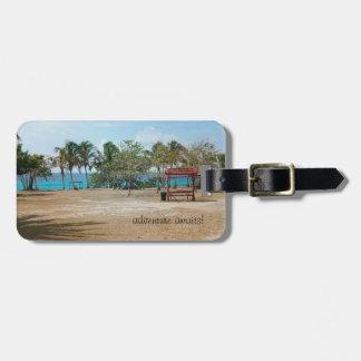 Playa Giron - Strand - Gepäckanhänger