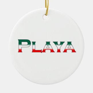 Playa (Playa del Carmen) Keramik Ornament