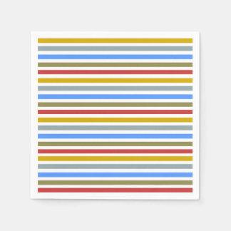 Playbow/weißes Standardcocktail-Papierservietten Papierservietten