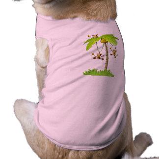 Playful Affe-Haustier-T - Shirt