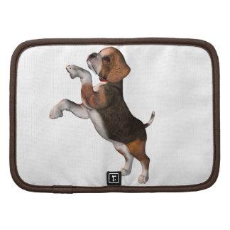 Playful Beagle-Geldbörsen-Folio Planer