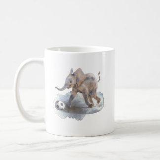 Playful Elefant 11 Unze-Klassiker-Tasse Kaffeetasse