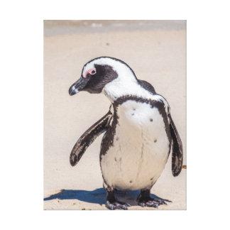 Playful Penguin-Leinwand-Kunst Leinwanddruck