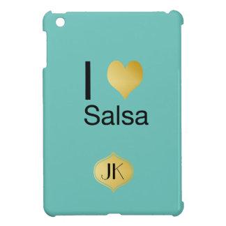 Playfully elegante i-Herz-Salsa iPad Mini Hülle