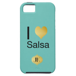 Playfully elegante i-Herz-Salsa Tough iPhone 5 Hülle