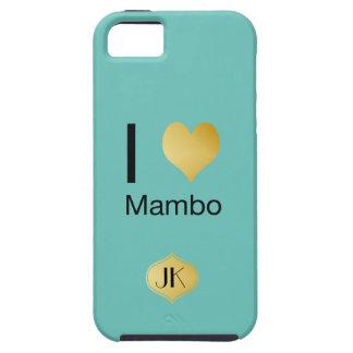 Playfully eleganter i-Herz-Mambo Hülle Fürs iPhone 5