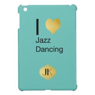Playfully elegantes i-Herz-Jazz-Tanzen iPad Mini Hülle