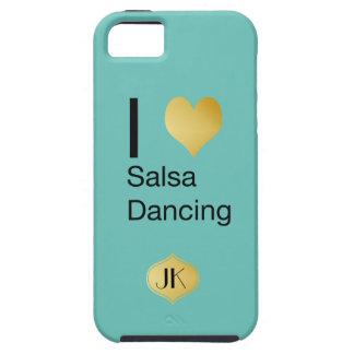 Playfully elegantes i-Herz-Salsa-Tanzen iPhone 5 Hülle