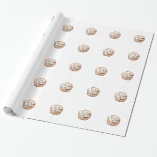 Playfully köstlicher Mund-wässernkrapfen Geschenkpapier