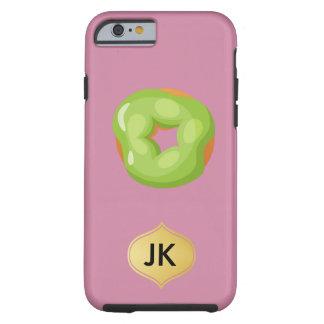 Playfully köstlicher Mund-wässernkrapfen Tough iPhone 6 Hülle