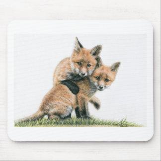 Playing Fox Kids Mousepad