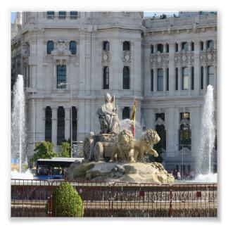 Plaza de Cibeles, Madrid Fotografie